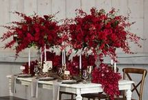 A Marsala wedding / 2015 colour of the year wedding inspiration