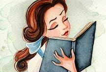 Beautiful Bookish Art / artwork, beautiful, amazing, art, poster, books, book, young adult, bookish