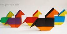 Оригами. Из бумаги. / об оригами