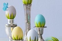 Easter Food and Decor