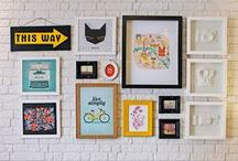 Decoração / Inspiração de decoração pra casa+home office