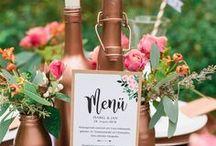 Hochzeitspapeterie, Einladungen und Co.