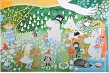 Muumi / the Moomins / Muumeja, joista pidän ja joita toivon saavani <3 The Moomins things which I'd love to get <3
