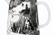 Omat Muumini - My Moomin things / Täällä näet, mitä Muumijuttuja jo omistan :)  Here you see what the Moomins things I already have :)
