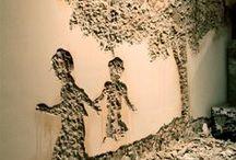 Paintings, Walls, Instalations