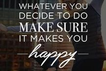 Get Inspired / All the words you need to live a happy and healthy life - Fabletics fitness inspiration and exercise motivation quotes.