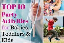 Ideas: Kids Party Activities / Crafts, games and activities for kids parties