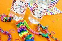 Themes: Rainbow Loom Party