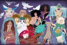 Zodiaco 2015 / Ilustraciones de los signos del zodiaco para el año 2015