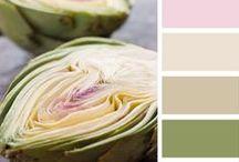 A arte de combinar cores.