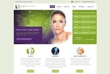 Website Design / All design are highly bright and well balanced as per composition.