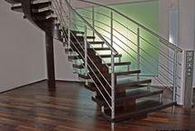 Mittelholmtreppen / Mittelholmtreppen sind ideal für großzügig gestaltete Räume