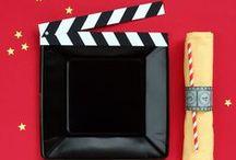 Themes: Movie Night / Movie night party.