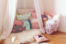 Kinderzimmer. / Auch Kinder wollen ein schönes Zimmer und Zuhause. Okay, vielleicht wollen nur wir einen Grund, ein weiteres Zimmer schön einzurichten ...