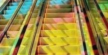 RP Colourful Inspiration / From deck chairs to escalators, inspiration can come from anywhere!