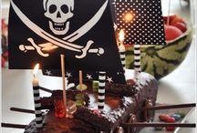 Piratenparty / Essen, Deko und Spiele – alles für den perfekten Piraten-Geburtstag