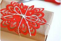 Inspirace k balení dárků