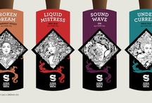 Siren Craft Brew - Pump Clip & Keg Clip Design / Designs for the pump and keg clips including variations explored during the design process