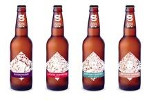 Siren Craft Brew - Bottle Label Design