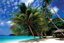 Espiritu Santo, Vanuatu / Espiritu Santo is the largest of Vanuatu's islands (4,010 km2) and is home to some of the most beautiful white sand beaches in the entire world