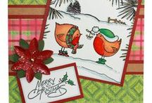 Robin & Friends / This is the Brand new set Robin & Friends from the Sharon Bennett Collection at Hobby Art. This gorgeous set contains 11 clear polymer stamps.  / by Hobby Art