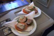 Air Vanuatu In-flight Catering / See the in-flight delights served on Air Vanuatu International  flights to/from Vanuatu