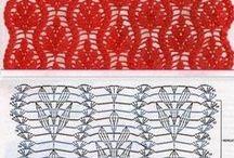 háčkování, tejidos, crochet