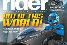 2014 Rider Magazine Covers / by Rider magazine
