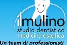 Studio Dentistico il Mulino di Asti / Clinica dentale, medicina e chirurgia estetica. Missione: la qualità delle cure cercando di raggiungere l' alleanza terapeutica con il paziente non solo per risolvere il suo problema, ma anche per cercare di eliminare i fattori di rischio legati allo stile di vita.