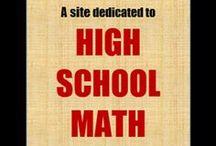 High School Math / Mathematics Resources for Upper Secondary/High School