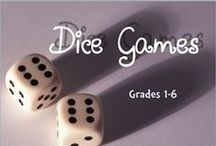 Math Dice Games / Dice Games that help you learn Mathematics!