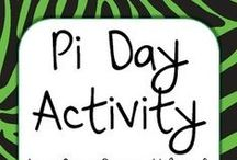 Pi Day Math / Fun Math Activities for Pi Day, March 14th.