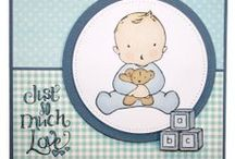 New Baby Set / This is the Gorgeous new set designed by Sharon Bennett.  / by Hobby Art Stamps