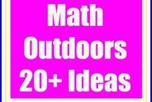 Outdoor Math / Fun Outdoor Activities that help you learn mathematics!