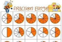 Math Bingo / Bingo games that help you learn mathematics!