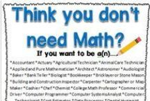 Math Motivation / Motivational quotes, posters etc. for learning mathematics.