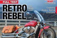 2015 Rider Magazine Covers / by Rider magazine