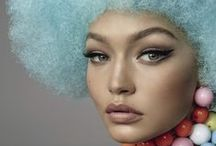 THE AFRO BLONDE GAME / ETHNIC INSPIRATION COLORFUL POP RETRO