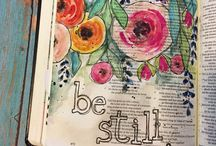 •Bible Journaling• / Ways to get creative with your Bible