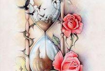 Tatoo / Artistic tattoo designs/ Художественные татуировки, эскизы, идея