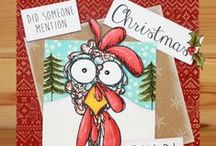 Daryl The Quirky Turkey / Christmas has arrived at Hobby Art! Introducing CS136D 'Daryl The Quirky Turkey' New Size A5 Clear set contains 22 stamps. Designed by Sharon Bennett. Overall size of set - 235mm x 155mm approx. All our clear stamps are made with photopolymer resin. / by Hobby Art Stamps