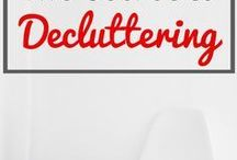 Declutter / Ideas & tips to declutter your home | how to keep your home clutter free | home declutter ideas