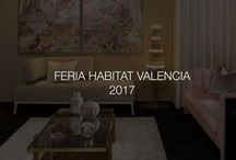 FERIA HABITAT VALENCIA | 2017 / Feria Habitat Valencia 2017 is an International Home Environment Exhibition where we presented our furniture pieces and collections.