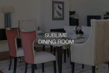 Sublime dining room | Stylish Club / Our Sublime dining room collection represents the luxury in the best way. The gorgeous interior space feels inviting.
