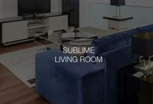 Sublime living room | Stylish Club / Our Sublime living room collection represents the luxury in the best way. The gorgeous interior space feels inviting and cosy to spend your day and night.