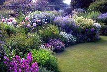 Jardines / Me encanta ver la decoraciòn de jardines es por eso que  edite este tablero /jardines / by Ma Eugenia Salazar