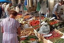 Markets - Mercati - Marchés - Mercados / The first place where to go when I arrive somewhere