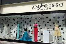 Window Displays from the Boutiques of Amarisso New York / Amarisso New York Boutiques in Athens ,Greece