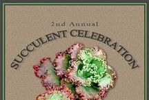 "Succulent Celebration / Every year, in the beginning of June, Waterwise Botanicals is host to the best ""Succulent Celebration"" this country has ever seen! It is a [FREE] 2-day garden event for all types of gardeners, designers, horticulturists and industry professionals to celebrate everything succulent.  There are vendors, garden book authors, workshops, garden tours, speaking events, food trucks, and acres of nursery grounds to roam and gather inspiration. Visit www.succulentcelebration.com for more info!"