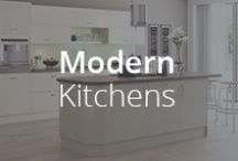 Modern kitchens / Minimalism is far from boring with our Modern range. Bold colours, gloss doors and textured surfaces create real style statements.